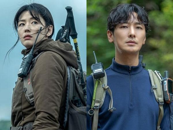 Jun Ji Hyun dan Joo Ji Hoon Siap Taklukkan Gunung Misterius di Foto Terbaru 'Mount Jiri'