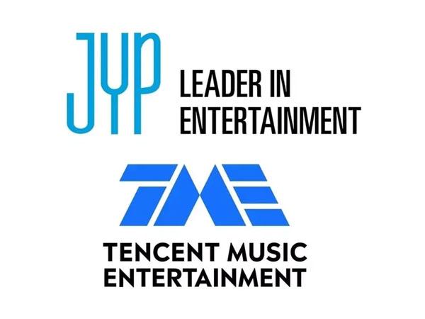 JYP Entertainment Jalin Kerja Sama dengan Tencent Music China