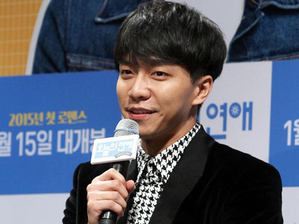 Lee Seung Gi Merasa Masih Mimpi Dapat Debut Film Layar Lebar!