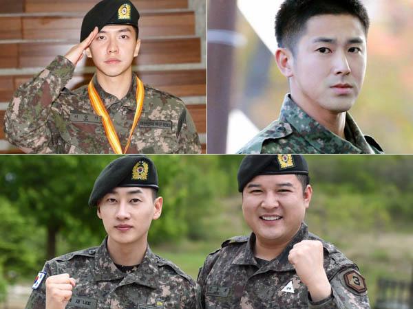 Tengah Wajib Militer, Empat Bintang Korea Ini Siap Tampil Bareng di '2016 Army Festival'