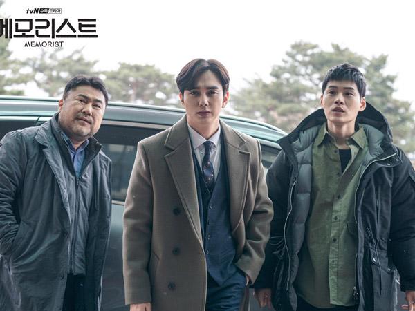 Kenalan dengan Squad Yoo Seung Ho di Drama 'Memorist' yang Kocak Namun Loyal