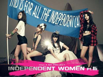 Miss A  Ungkap Album Independent Women Pt.3