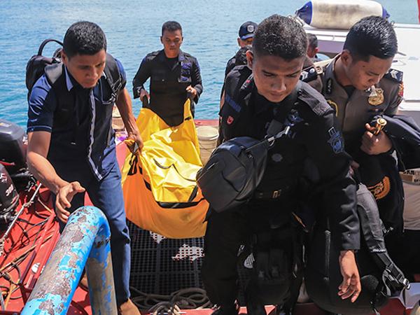 Serpihan dan Potongan Tubuh Terlihat, Kapolda Kepri Sebut Pesawat Polri Meledak di Laut