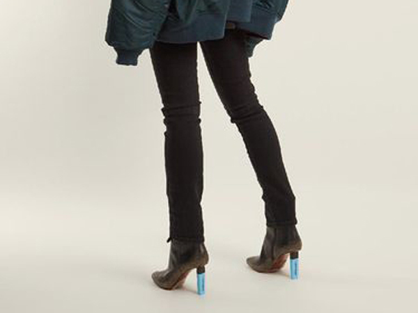 Tengok Keunikan Sepatu Hak 'Stabilo' Yang Dibandrol Puluhan Juta