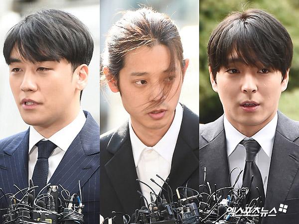 Seungri, Jung Joon Young, dan Choi Jonghoon Diduga Lakukan Aksi Kriminal di Luar Negeri