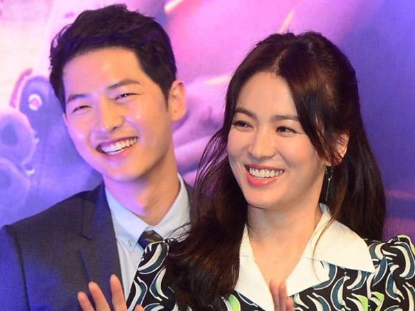 Song Joong Ki Ternyata Liburan Bareng Song Hye Kyo di Bali?