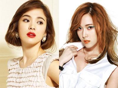 Wow, Song Hye Kyo dan Jessica SNSD Dijadikan Model Klinik Bedah Plastik!