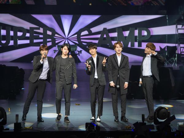 Walau Tanpa Kangin, Super Junior Sukses Gelar Tur Jumpa Fans Di Macau