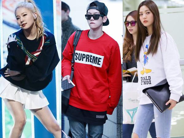 Mix & Match Sweatshirt A la Para Idola K-Pop Ini Yuk!