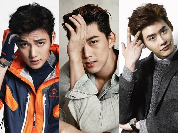 Bak Ulat Bulu, Ini Dia Sederet Seleb Pria Korea Beralis Tebal Mempesona! (Part 2)