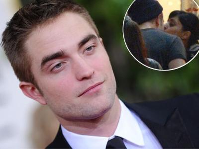 Robert Pattinson Cium Gadis Misterius di Kanada
