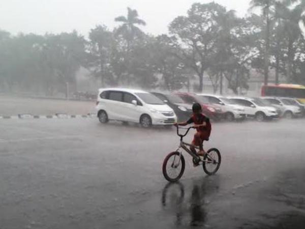 Hujan Mengguyur Sumatera Selatan, Petugas Pemadam Karhutla Ucapkan Rasa Syukur