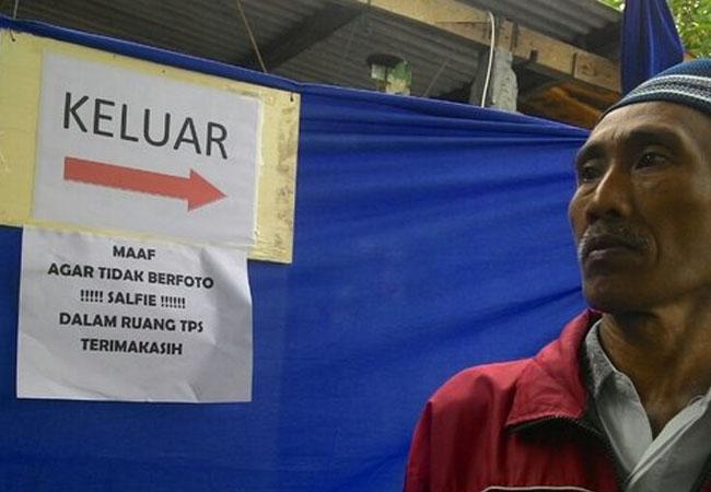 Pemilih Pilkada di Kabupaten Malang Dilarang Selfie di TPS