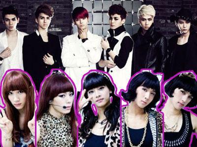 Intip Aksi VIXX Berubah Menjadi Wonder Girls dan Menggoda Juri!