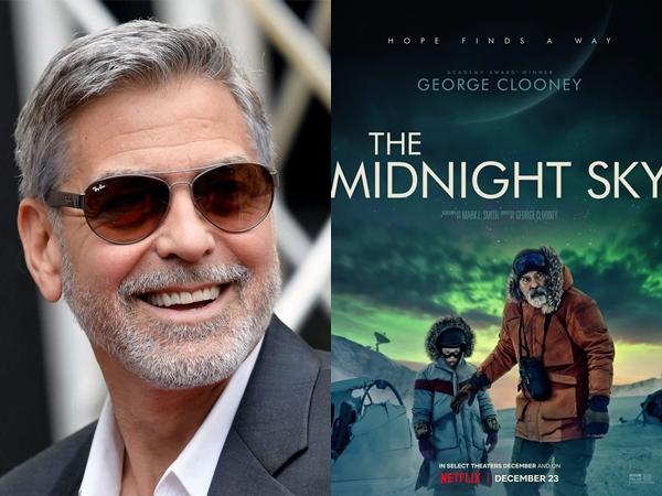 George Clooney Curhat Soal Kesulitan Syuting 'The Midnight Sky', Stres dan Terpukul