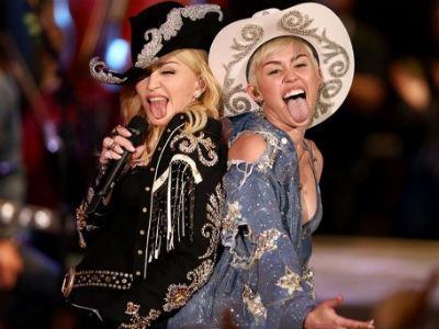 Madonna akan Kolaborasi dengan Miley Cyrus