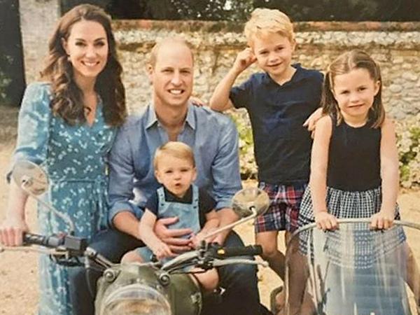 Tepuk Tangan, Anak Pangeran William-Kate Middleton Semangati Tenaga Medis Lawan Corona