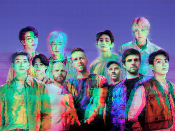 Lagu BTS dan Coldplay 'My Universe' Naik Lagi di Chart Billboard Hot 100
