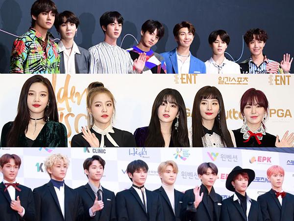 Ada BTS, Inilah Line Up Selanjutnya yang Dikonfirmasi Tampil di '2018 Soribada Best K-Music Award'