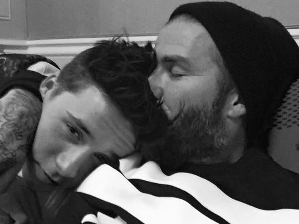 Simak Ucapan Manis David Beckham Untuk Ulang Tahun Brooklyn ke-16