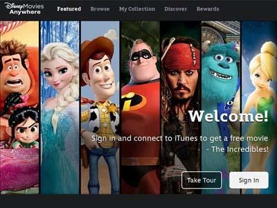 Wow, Disney Jual Film Digital Lewat iTunes!