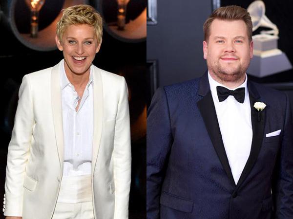 Staf Ungkap Adanya Pelecehan, Ellen DeGeneres Bakal Digantikan James Corden?