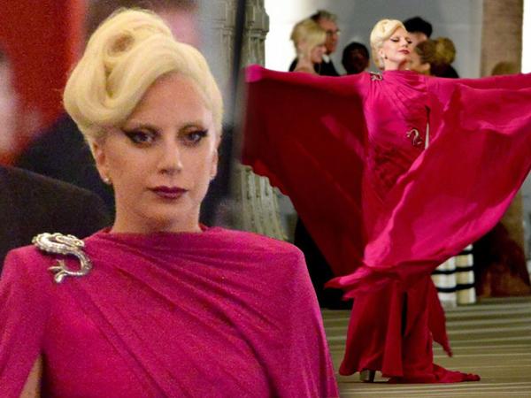 Terlihat Di Lokasi Syuting 'American Horror Story', Lady Gaga Bikin Merinding Fans