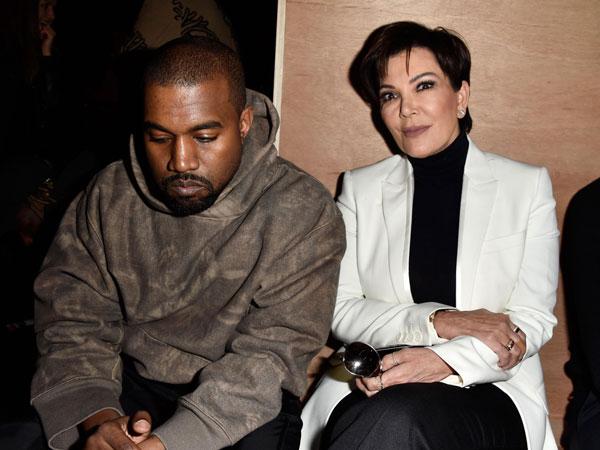 Kanye West Dikabarkan Sedang Berseteru Dengan Kris Jenner?