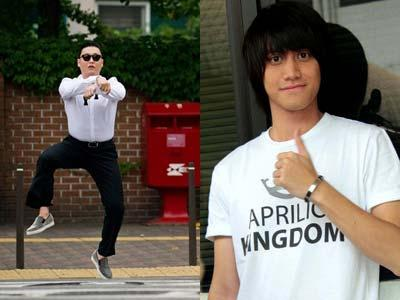Wah Kevin Aprilio Ngefans Juga Dengan Gangnam Style
