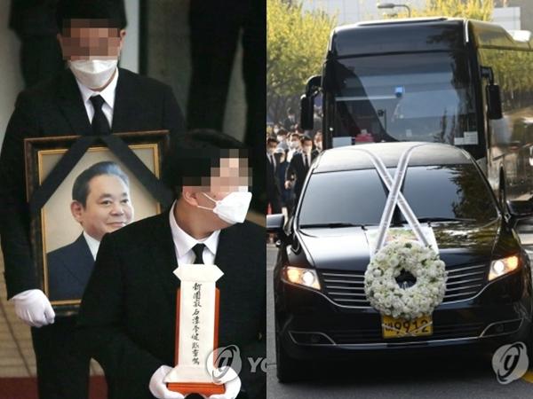 Pemakaman Bos Samsung Lee Kun Hee, Jenazah Dibawa Keliling ke Tempat Bersejarah