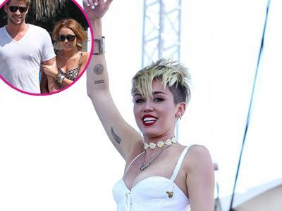 Menitikan Air Mata di Atas Panggung, Miley Cyrus Ingat Liam?