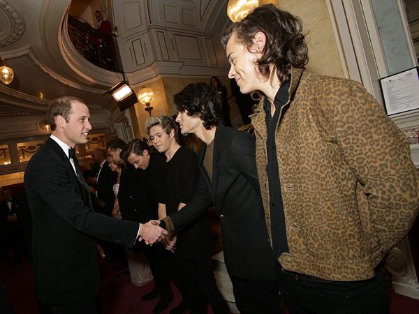 One Direction Dapat 'Nasihat' dari Pangeran William Sebelum Tur Dunia!