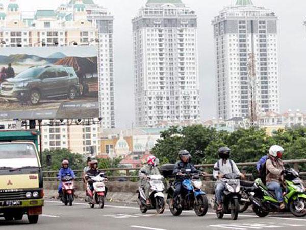 Jakarta Banjir Lagi, Pengendara Motor Dibolehkan Masuk Tol