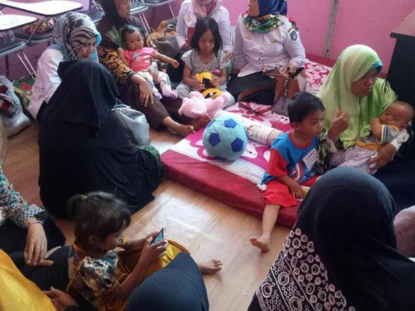 Cerita Korban Gempa dan Tsunami Sulteng yang Mengungsi di Makassar