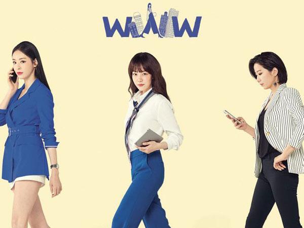 Lee Da Hee, Im Soo Jung, dan Jun Hye Jin Tampilkan Potret Wanita Karir Ambisius di Poster 'WWW'