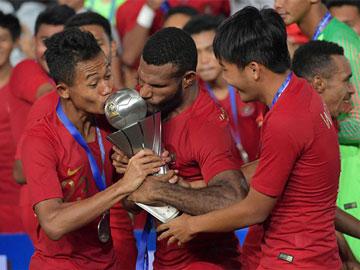 Bangga, Momen Heroik Timnas Indonesia Kalahkan Thailand Jadi Juara AFF U-22
