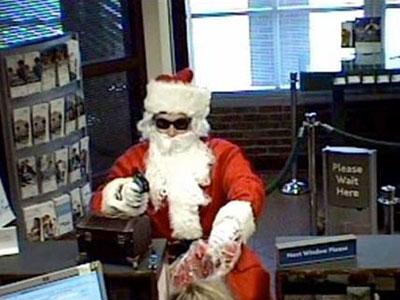 Duh, Sinterklas Gadungan Malah Rampok Bank di AS