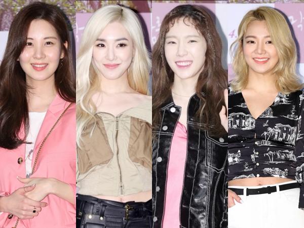 Penampilan Stylish Member SNSD yang Kompak Hadiri Acara VIP Premiere Film Terbaru Sooyoung