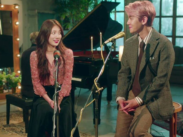 Lagu 'Dream' Terus Meroket di Chart Musik, Baekhyun Ucapkan Terima Kasih Pada Suzy