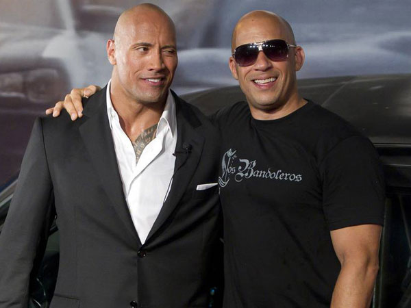 Dikabarkan Saling Berseteru, Vin Diesel Justru Memuji The Rock