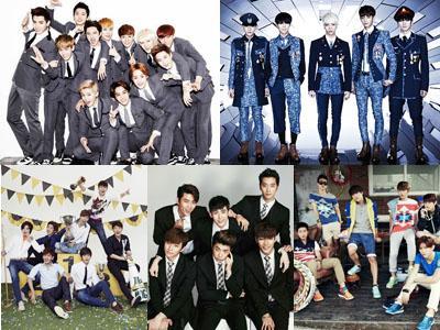 Inilah 5 Boy Group K-Pop Terpopuler Secara Global di Tahun 2013!