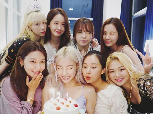 Tiffany Rayakan Ulang Tahun Bareng Member SNSD dan Rilis Lagu Baru!