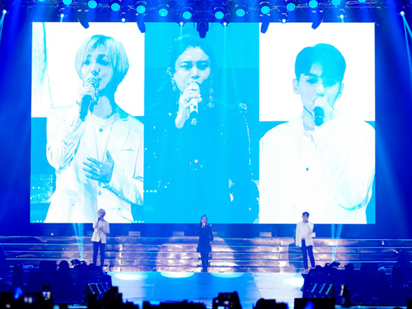 Yesung dan Ryeowook Super Junior Fasih Nyanyikan Lagu 'Tegar' Bareng Rossa