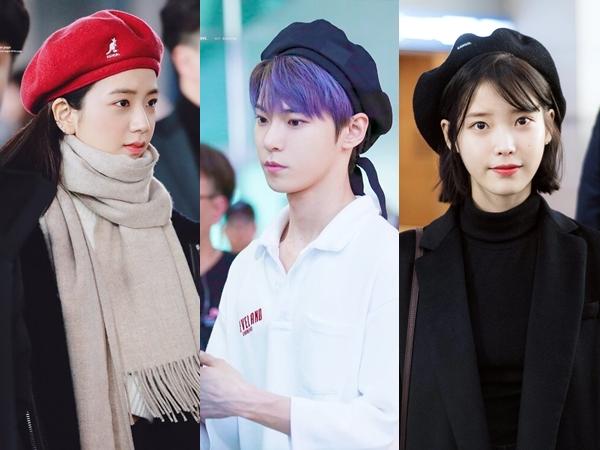 10 Idola K-Pop yang Tampil Kece dengan Topi Baret