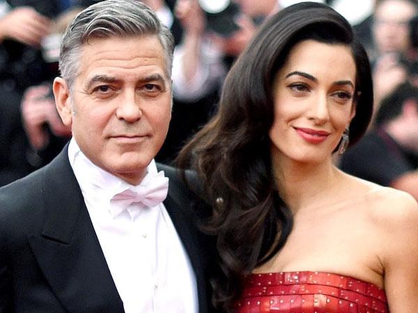 George Clooney dan Amal Alamuddin Sewa Pengawal 42,3 Miliar untuk Anaknya