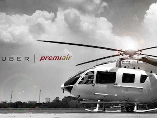 Hadirkan Layanan Baru, Uber Layani Taksi Helikopter di Langit Jakarta