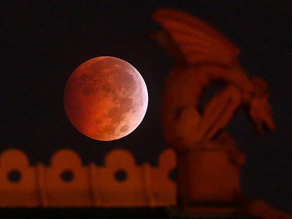 Heboh Isu Kiamat, Fenomena 'Blood Moon' Terlihat Indah Di Berbagai Belahan Dunia