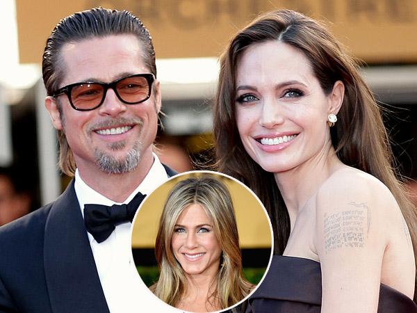 Cemburu Pada Mantan, Angelina Jolie Tuntut Brad Pitt Tak Pertemukan Anak dengan Jennifer Aniston?