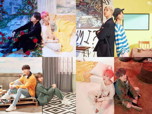 BTS Buka Perayaan Anniversary 'BTS Festa' dengan Potret Pertemuan Lagu Solo