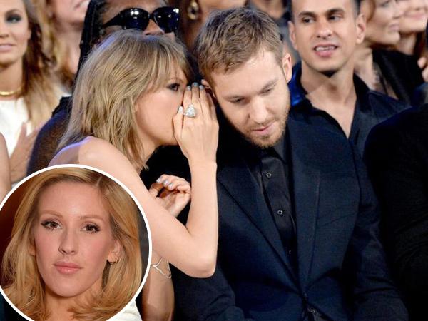 Ellie Goulding Juga Pernah Jadi Mak Comblang Taylor Swift dan Calvin Harris